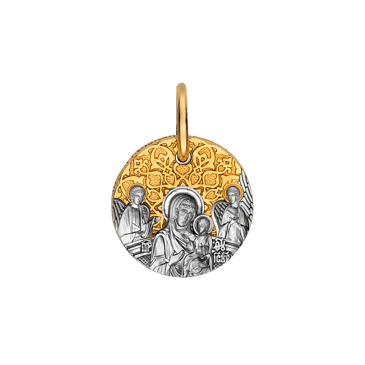 Образок «Божия Матерь «Всецарица» 02.117